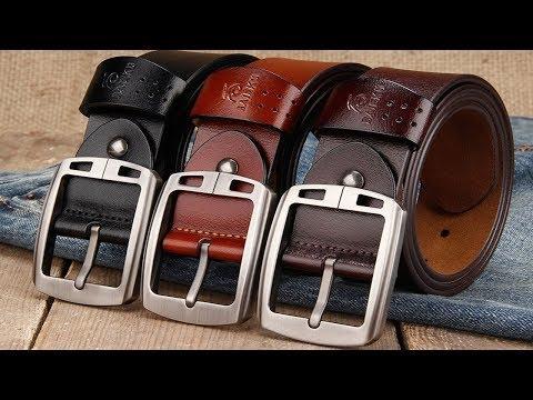 10 лучших мужских ремней/best men`s belts с торговой площадки Aliexpress