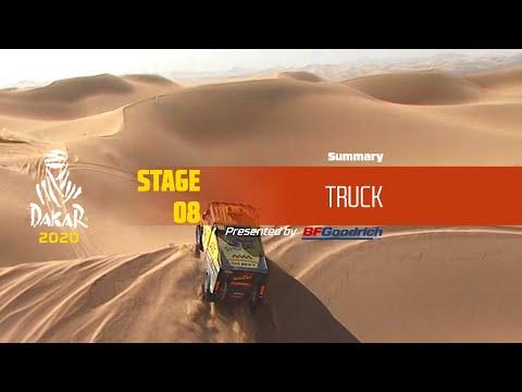 Dakar 2020 - Stage 8 (Wadi Al-Dawasir / Wadi Al-Dawasir) - Truck Summary