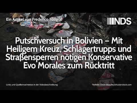 Putschversuch in Bolivien – Mit Heiligem Kreuz, Schlägertrupps und Straßensperren gegen Evo Morales