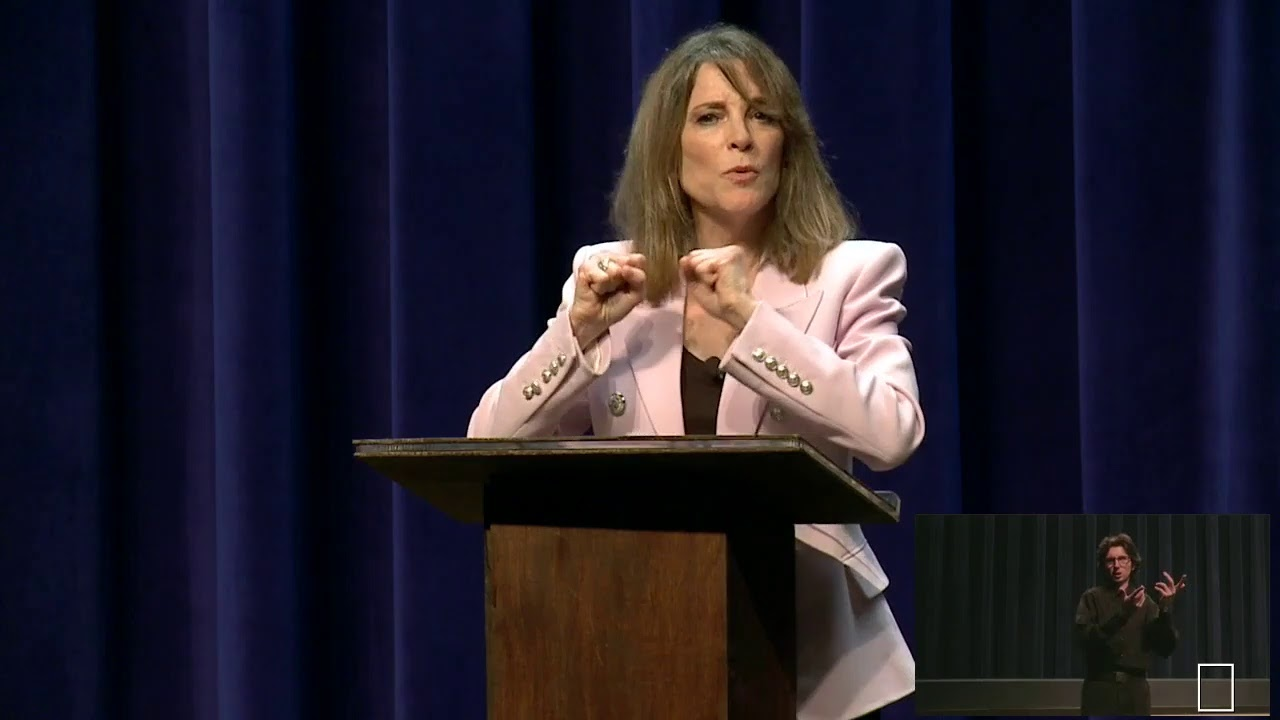 US Presidential Candidate Marianne Williamson's Post-Debate Commentary