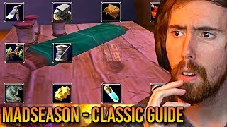 "Asmongold Reacts To ""WoW Classic Launch Guide & Preparation"" - MadSeasonShow"