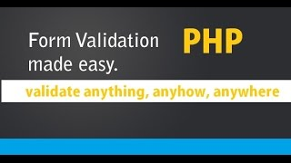 PHP Form Validation.
