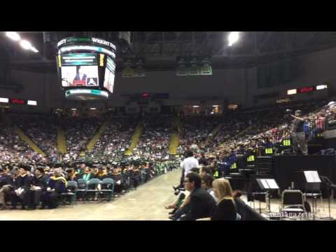 Wright State University spring 2017 graduation ceremony