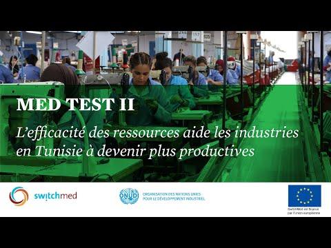 Resource efficient industries in Tunisia  -MED TEST II
