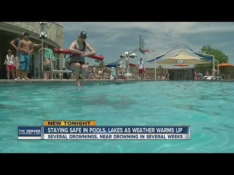Pool safety paramount as warm weather persists across Colorado
