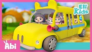 Wheels On The Bus 1 Hour Compilation | Eli Kids Educational Songs & Nursery Rhymes