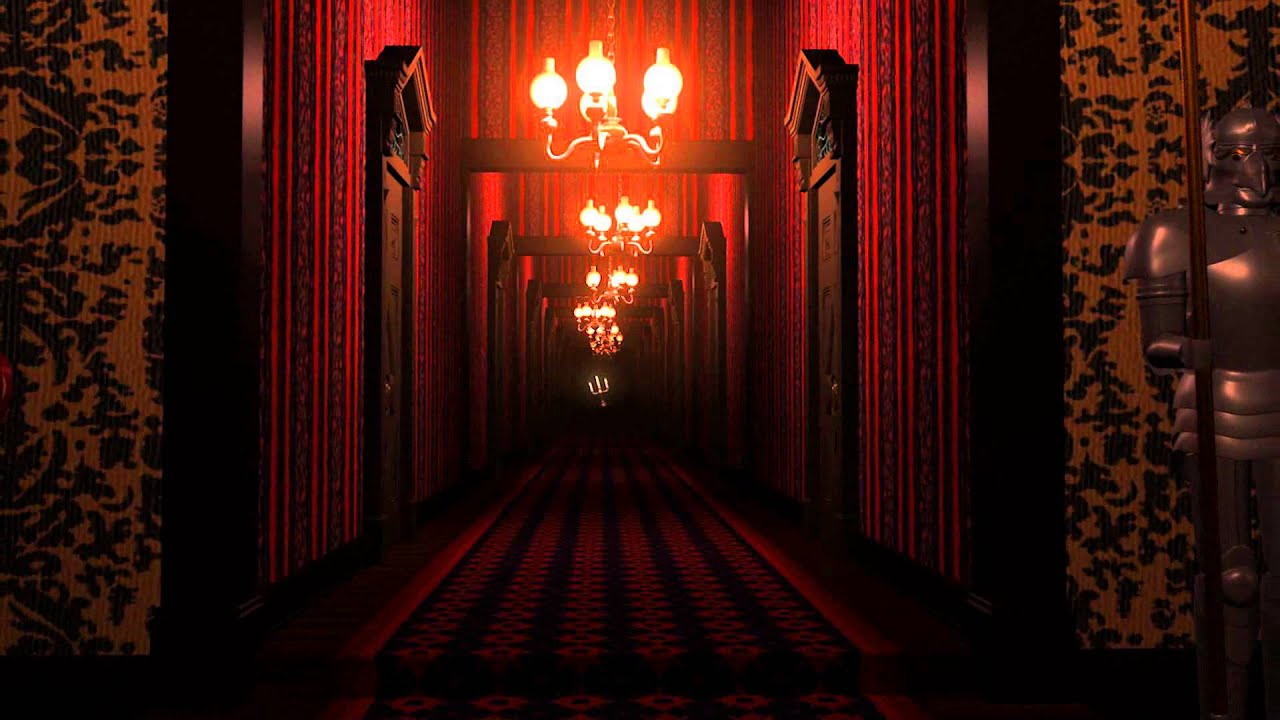 Haunted House 3d Wallpaper Haunted Mansion Preview Endless Hall Youtube