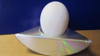 Подставка для Яиц Как Сделать Своими Руками из CD Диска / Egg cups of How to Make a CD