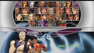 Tekken Tag Tournament HD - Kazuya/Bryan Playthrough (PS3) thumbnail
