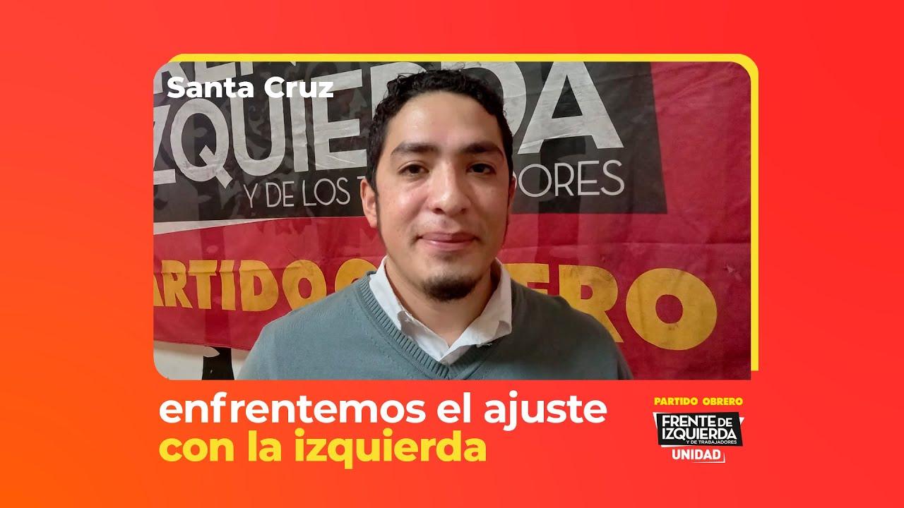 Conocé a Nicolás Gutiérrez candidato a diputado nacional / Partido Obrero Frente de Izquierda Unidad