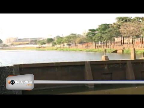 Falta de chuva: água para de verter na represa municipal