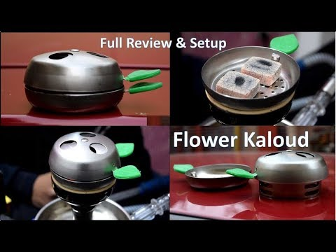 Flower Kaloud for Hookah Chillum | Heat Management System for Shisha | Cheap Cost Hookah Accessories