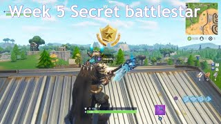 Fortnite week 5 secret battlestar