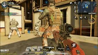 Call of duty mobile | Game play | Rust Map | Hard point | AK47