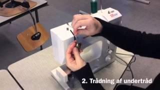 Sådan tråder du en symaskine