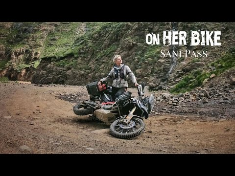 Sani Pass. South Africa. On Her Bike Around the World. Episode 87