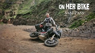 Solo Motorcycle Ride through the Legendary Sani Pass in South Africa. EP 87