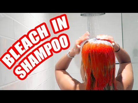 HAIR BLEACH SHAMPOO PRANK !! 😂 😲 (GONE CRAZY WRONG)