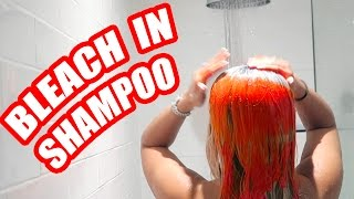 HAIR BLEACH SHAMPOO PRANK !! 😂 😲 (GONE CRAZY WRONG)
