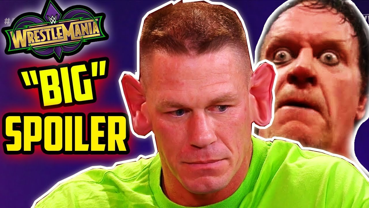 WrestleMania 34: Huge SPOILER on John Cena vs The Undertaker at WWE extravaganza