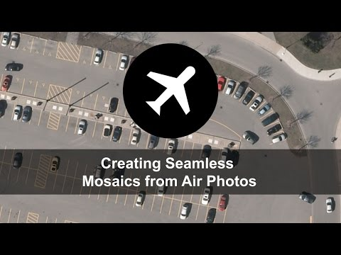 PCI Geomatics Training - Creating Seamless Mosaics From Air Photos