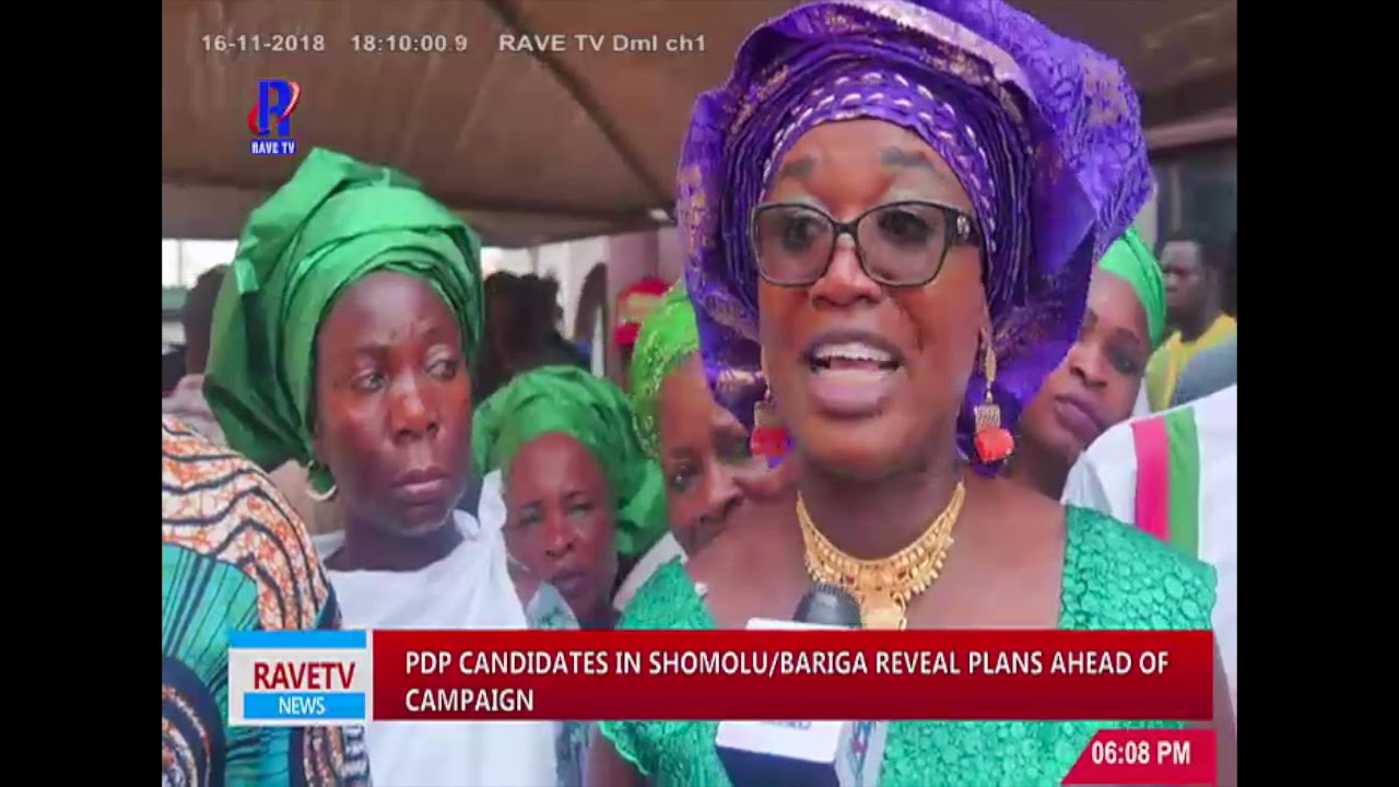 Download PDP Candidates In Shomolu/Bariga Reveal Plans Ahead of Campaign