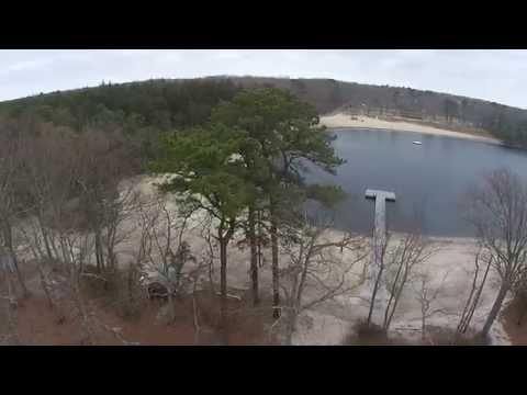 Waretown Lake Aerial Video