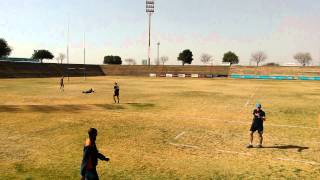 rugby enormous 80 metres kick