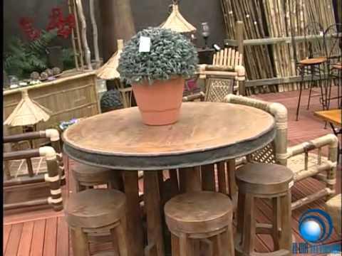 Muebles de jardín en LALYFLOR - YouTube