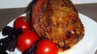 Свиная рулька запечённая в духовке