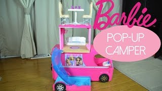 New!  2015 Barbie Pop Up Camper REVIEW