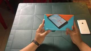 Review Tablet Lenovo TAB 7 ESSENCIAL. TB-7304F. Slate Black. Español Latino