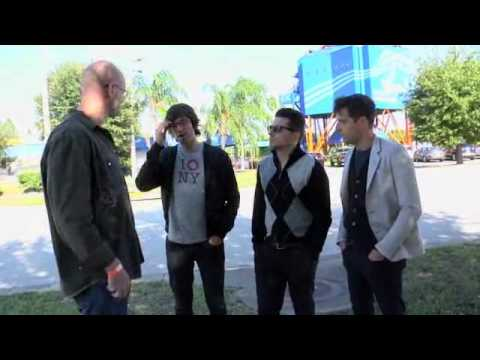 Skydive Interview with The Bravery