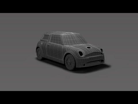 Modeling Mini cooper 3DS Max tutorial Part -1