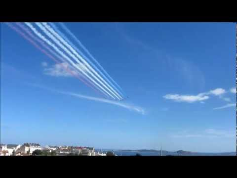 Red Arrows Guernsey 2012
