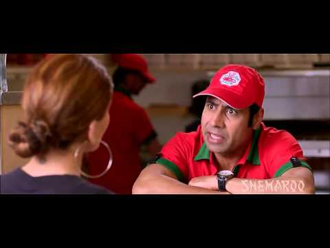 Mesha Toor - Best Of Luck, Punjabi Film (Pizza scene)