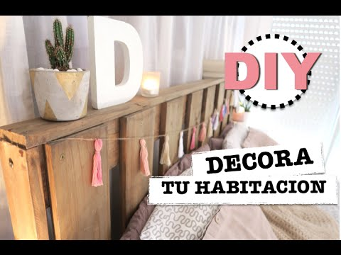 DIY | HOW TO MAKE ROOM DECOR | HOW TO MAKE TASSELS | TIPS AND IDEAS ♡ STEFFIDO