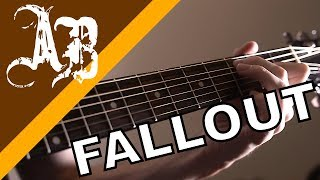 How to play FALLOUT by Alter Bridge (Intro tutorial w/TABS)