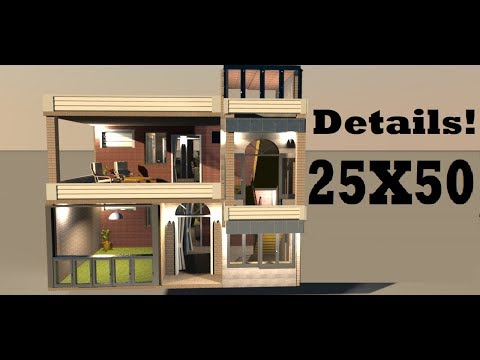 25x50 With Maximum Parking Area Video By Build Your Dream