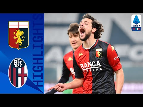 Genoa 2-0 Bologna | Zajc & Destro Clinch Important Win for Genoa | Serie A TIM
