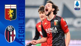 Genoa 2 0 Bologna Zajc Destro Clinch Important Win for Genoa Serie A TIM