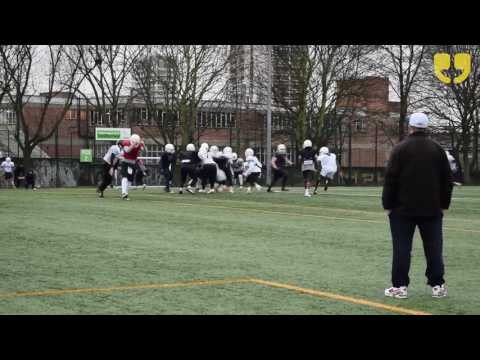 What is American Football? London Blitz at Market Road Football Field by WinkBall