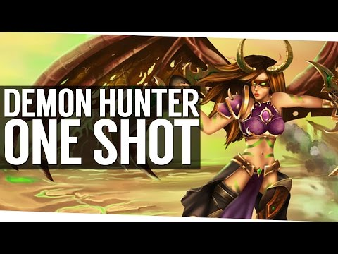 Patch 7.1.5 Demon Hunter One Shot Burst - World of Warcraft Legion