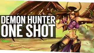 Patch 7.1.5 Demon Hunter One Shot Burst - World of Warcraft Legion