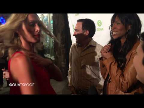 Oxfam  Once Upon A Time stars Victoria Smurfit, Patrick Fischler, & Merrin Dungey