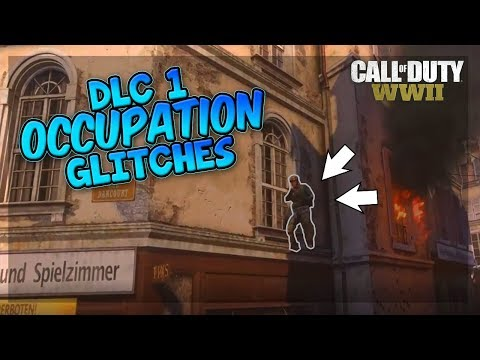 WW2 *NEW* GLITCH OCCUPATION HIGH LEDGE - BEST HIDE N' SEEK SPOTS & GLITCHES! WW2 DLC 1 RESISTANCE