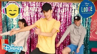 The Lodge | Dance Tutorial: It's My Time with Jayden | Official Disney Channel UK