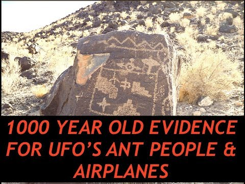 Ancient Map Depicts Underground Mountain Base, Spaceships, Mantis Beings in NM