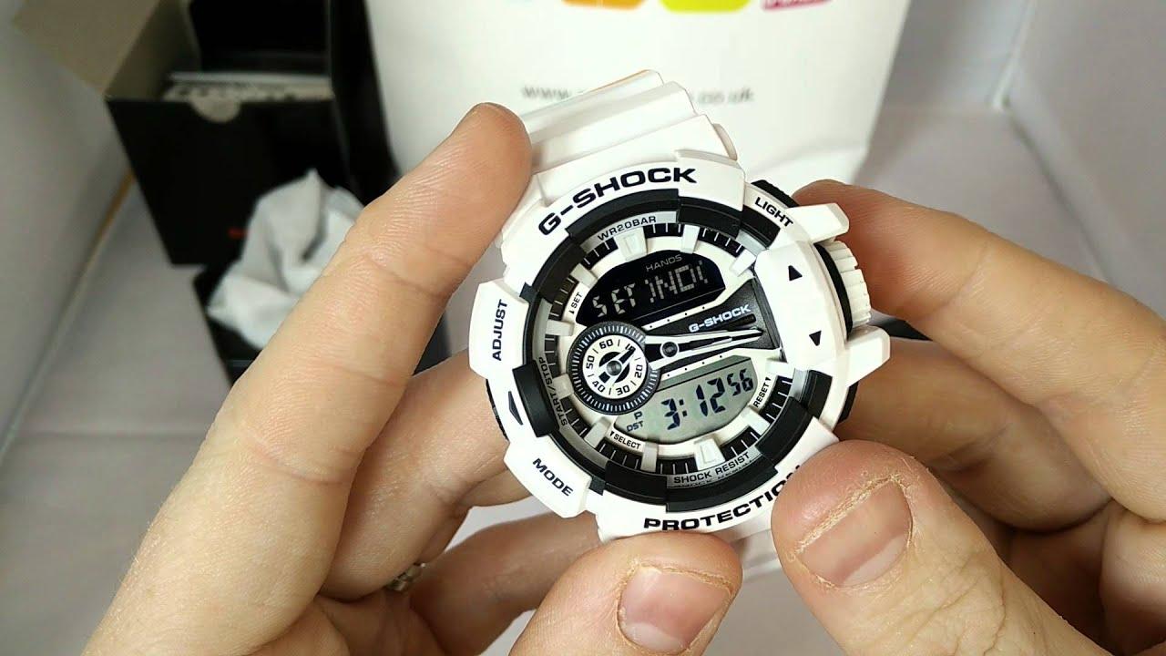 79de53657574 Casio GShock GA-400-7 review. HD - YouTube