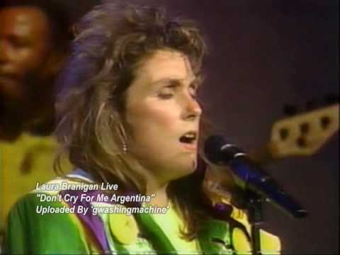 """Laura Branigan """"Don't Cry For Me Argentina"""" Live, 1990 *RARE*"""